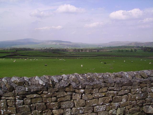 Wall, Eldroth Road