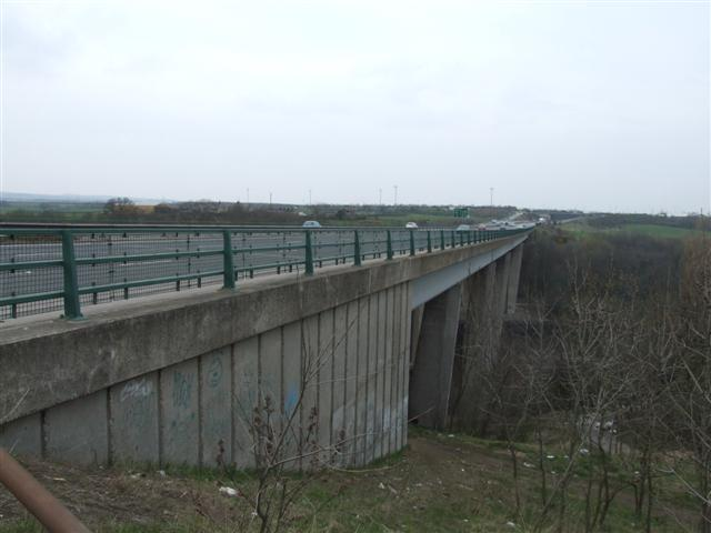 A19 road bridge over the River Wear