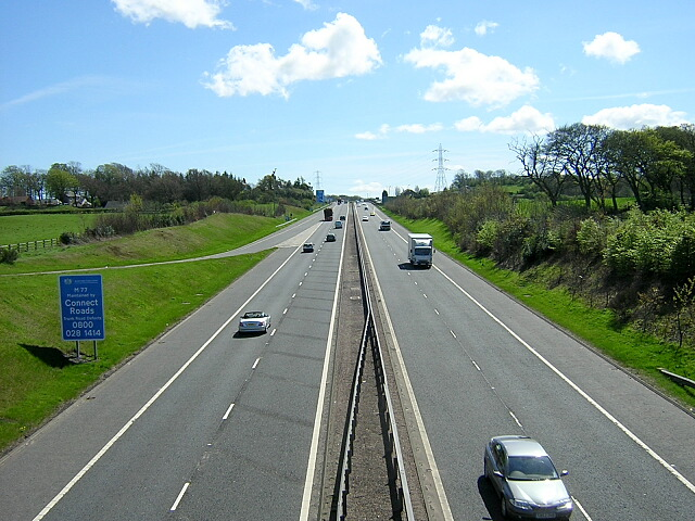M77 South of Newton Mearns