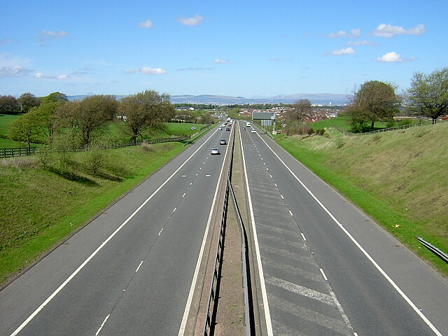 M77 West of Newton Mearns