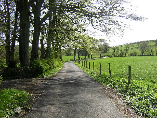 Country Road at West Titwood