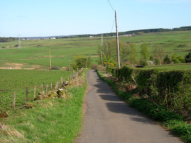 Country Road South of Newton Mearns