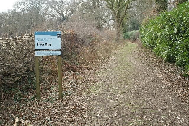 Track to Emer Bog