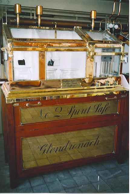 Glendronach Distillery, No 2 Spirit Safe.