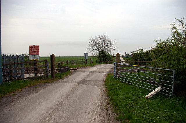 Killingholme Level Crossing