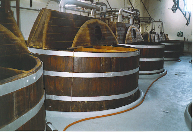 Glendronach Distillery, Mash Tuns.