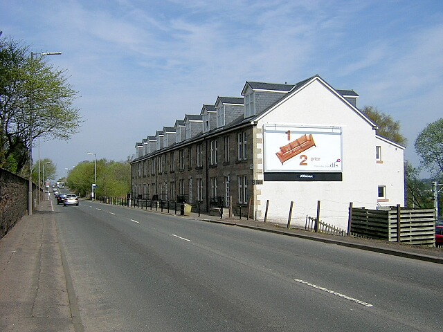 Allanton Terrace on Larkhall to Hamilton Road