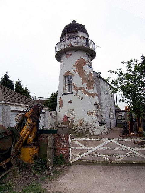 Old  Lighthouse on Killingholme Marshes