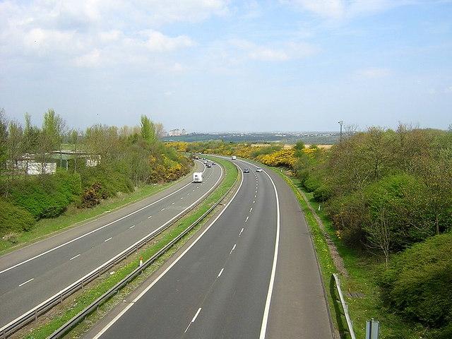 M74 Near Larkhall