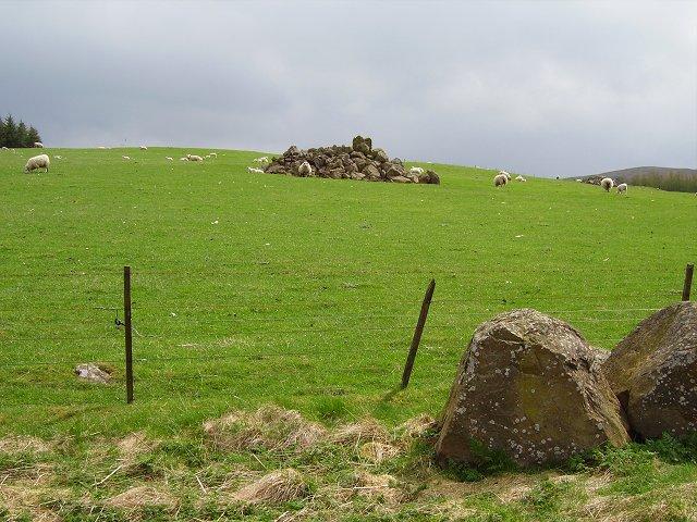 Cleared fields, Stewarton.