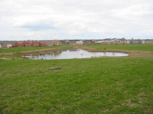 Housing Estate Near Peterborough