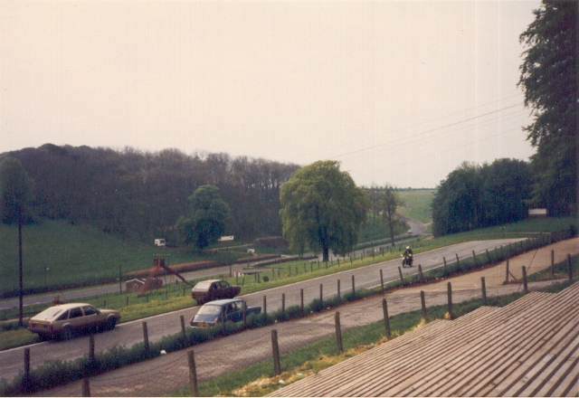 Cadwell Park, top of 'The Mountain'