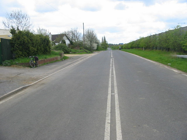 Former A1 to Norman's Cross