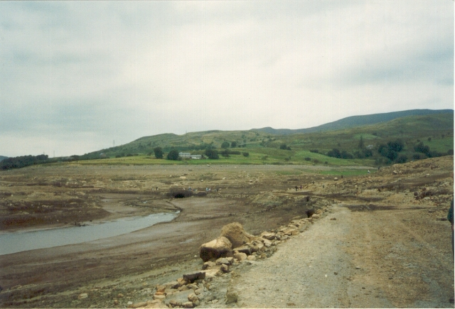 The old road, Capel Celyn