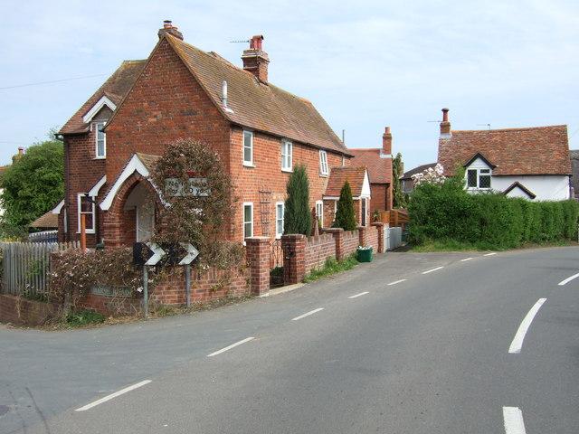 Shabbington : Marsh Road junction