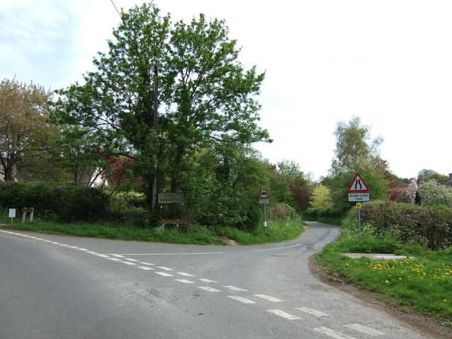 Frogmore Lane junction, Long Crendon