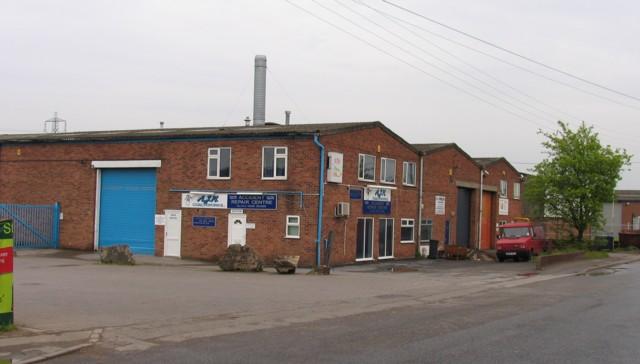 Industrial estate buildings