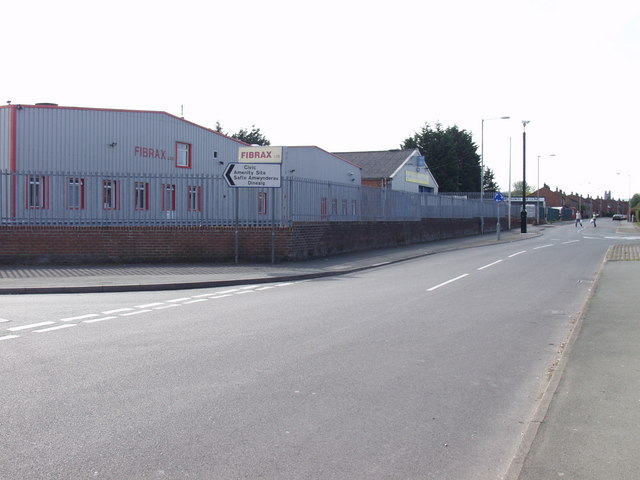 Small Industrial Estate in Caia Park, Wrecsam