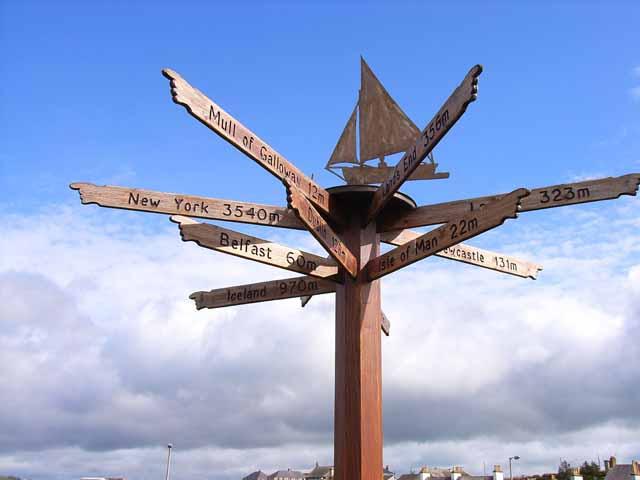 Signpost at Port William