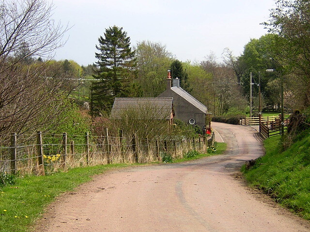 Country Road Near Blackwood