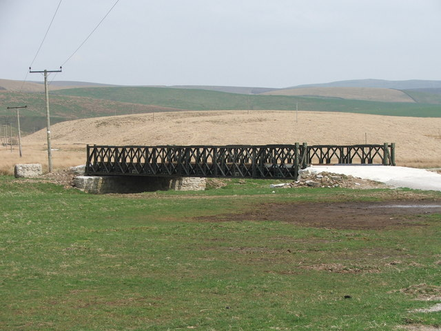 New bridge at Ingman Lodge Rough Pasture.