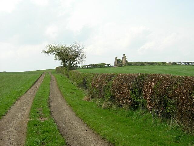 Track Leading to Castlehill Ruin