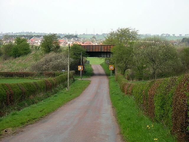 Disused Railway Bridge Near Stonehouse