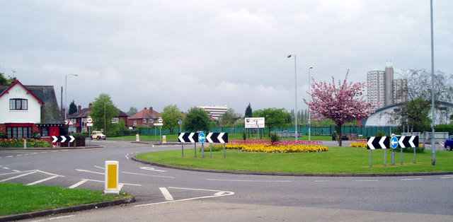 Forest Road roundabout, Loughborough