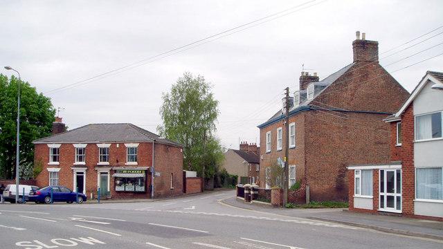 Market Place, Donington, Lincs
