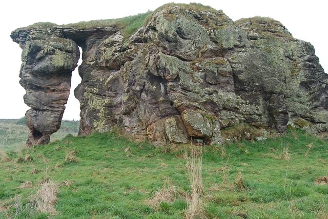 Buddo Rock, north face