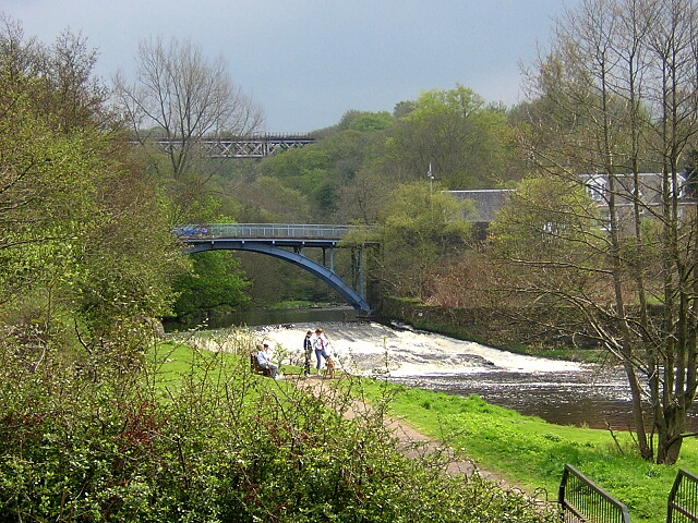Avon Water at Millheugh Bridge