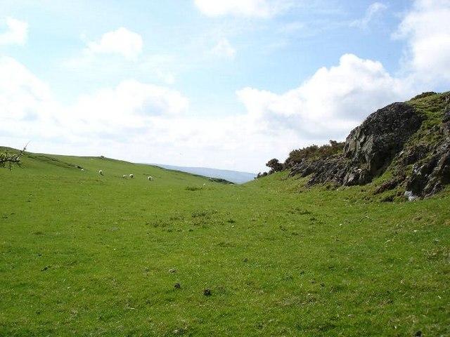 Fields near Pentre Isaf