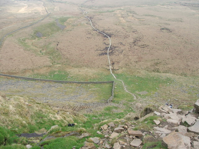 Looking down to Humphrey Bottom.