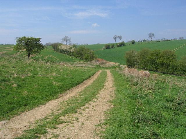Farm Track near Gorst Barn, Aldon