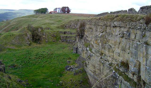 High Barn and Boltby Scar Quarry