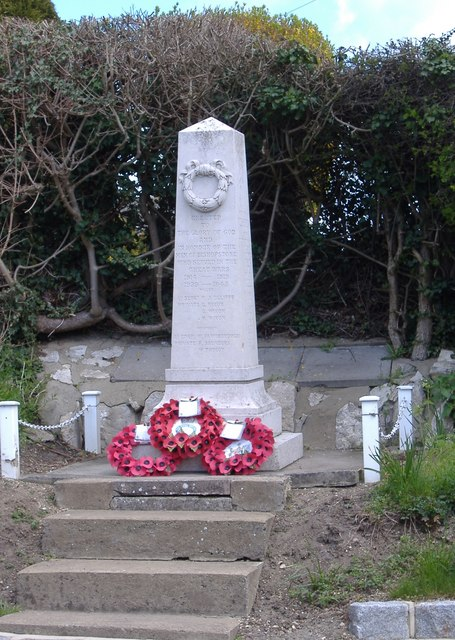 War Memorial, Bishopstone