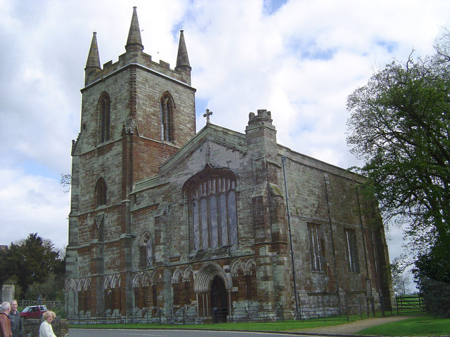 St Mary's Church, Canons Ashby
