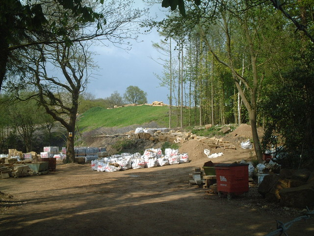Entrance to Philpots Quarry