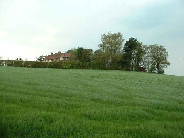 House and farmland near Delamere
