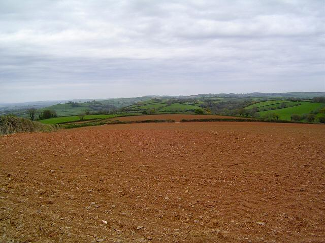 Devon's red earth
