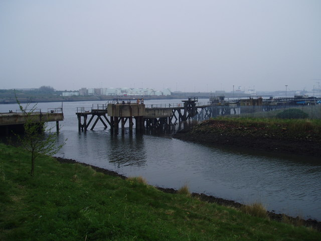 River Don meets the River Tyne, 7th May 2006