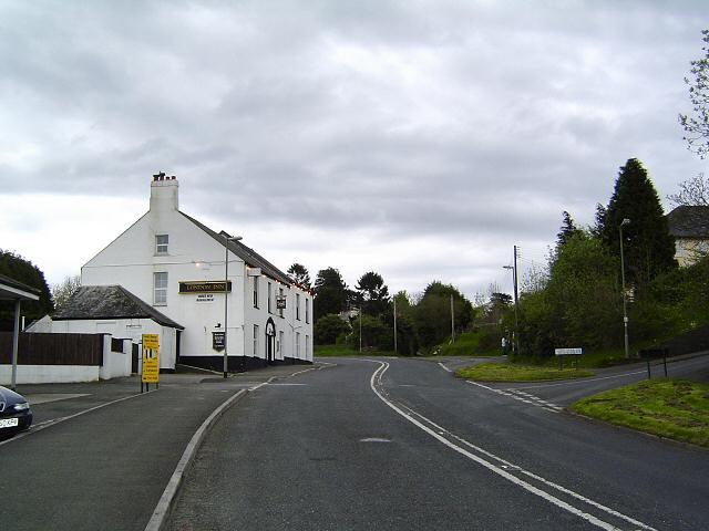 South Brent scene - South Devon