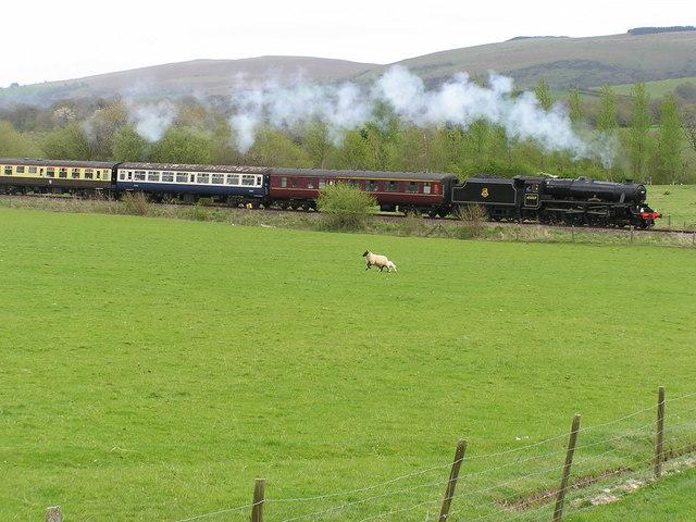 Railway nr Cilmery