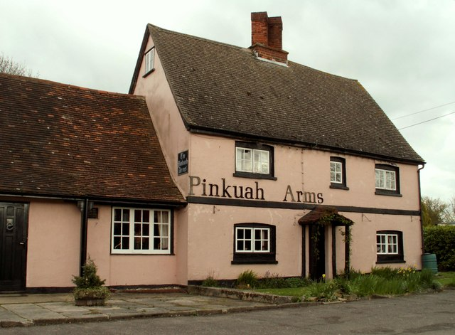 'The Pinkuah Arms' public house, Pentlow, Essex
