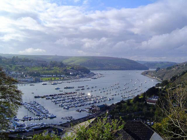 Dartmouth Harbour from Kingswear