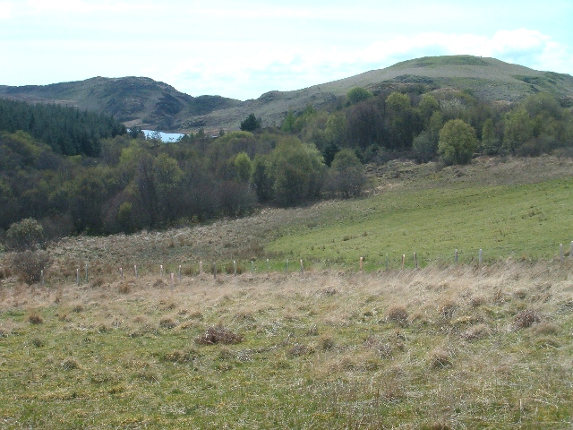Looking south west towards Loch Mhic Mhairtein