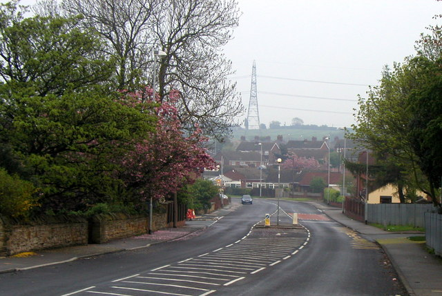 Snydale Road (B6133) in Normanton