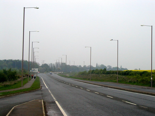 The A655 Normanton Bypass