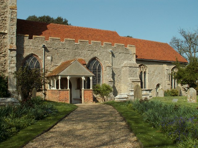 St. Edmund King and Martyr church, East Mersea, Essex
