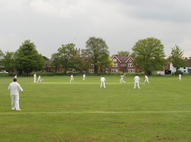 Cricket on Abbey Fields, Chertsey